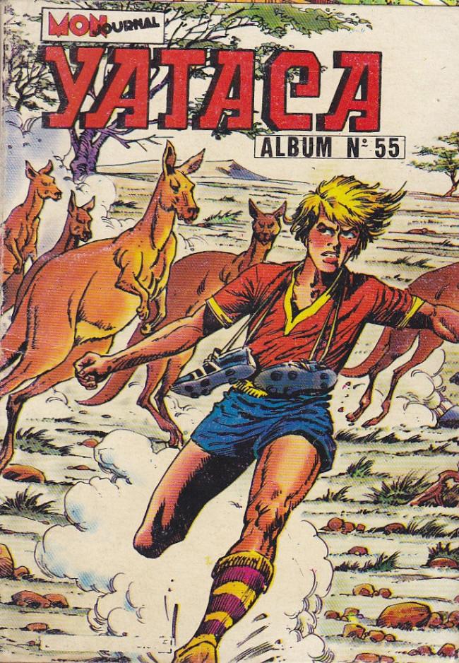 Couverture de Yataca (Fils-du-Soleil) -Rec55- Album N°55 (du n°186 au n°188)