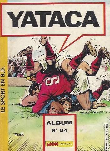 Couverture de Yataca (Fils-du-Soleil) -Rec64- Album N°64 (du n°213 au n°215)