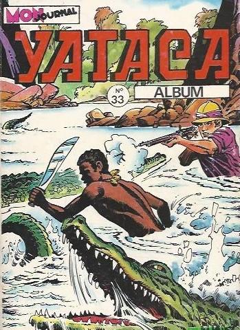 Couverture de Yataca (Fils-du-Soleil) -Rec33- Album N°33 (du n°120 au n°122)
