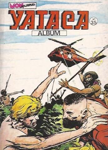 Couverture de Yataca (Fils-du-Soleil) -Rec35- Album N°35 (du n°126 au n°128)