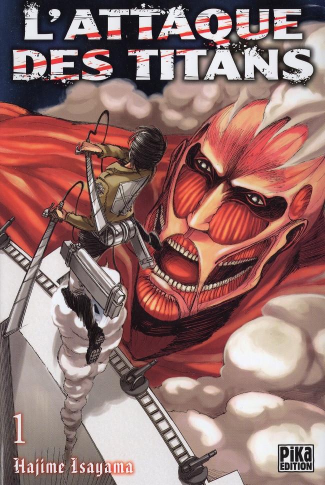 Couverture de L'attaque des Titans -1- Tome 1