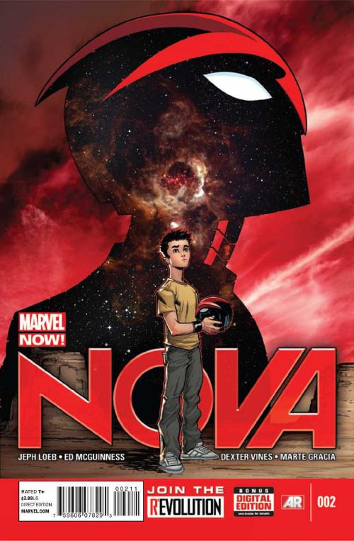 Couverture de Nova (2013) -2- Chapter Two: Believe