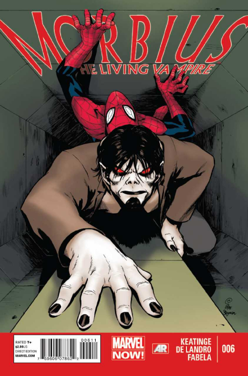 Couverture de Morbius, The Living Vampire (2013) -6- Cure Everything, Part One