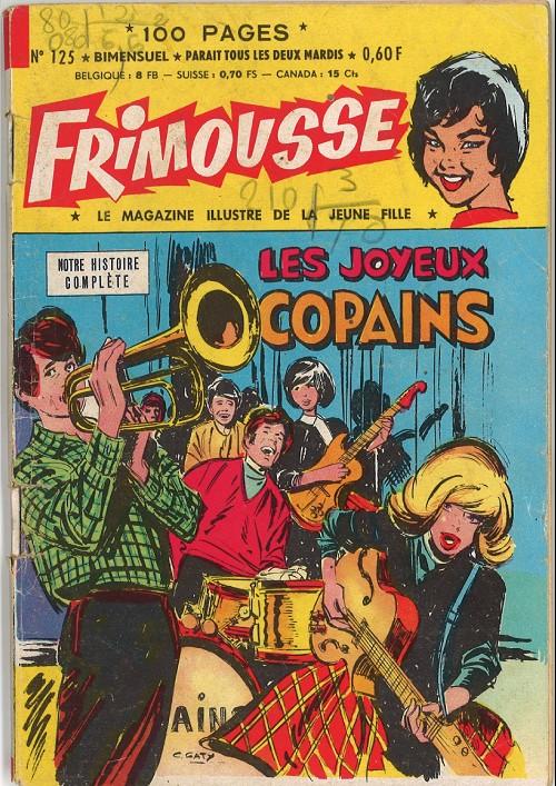 Couverture de Frimousse et Frimousse-Capucine -125- Les joyeux copains