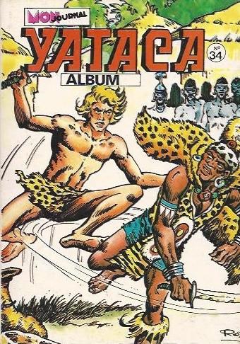 Couverture de Yataca (Fils-du-Soleil) -Rec34- Album N°34 (du n°123 au n°125)