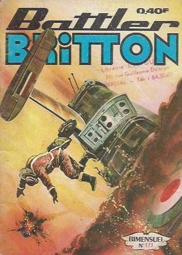 Couverture de Battler Britton (Imperia) -171- Opération Scorpion