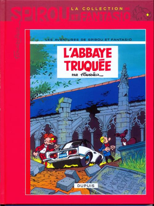 Couverture de Spirou et Fantasio - La collection -24- L'Abbaye truquée