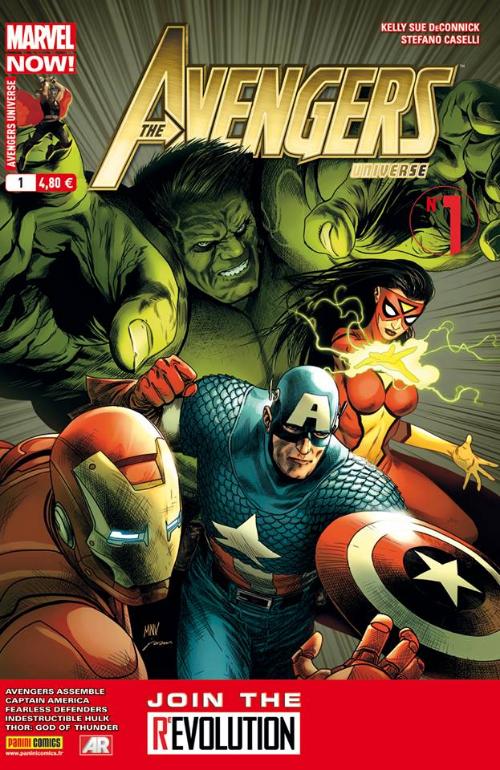 Couverture de Avengers Universe (1re série - 2013) -1- Le pari