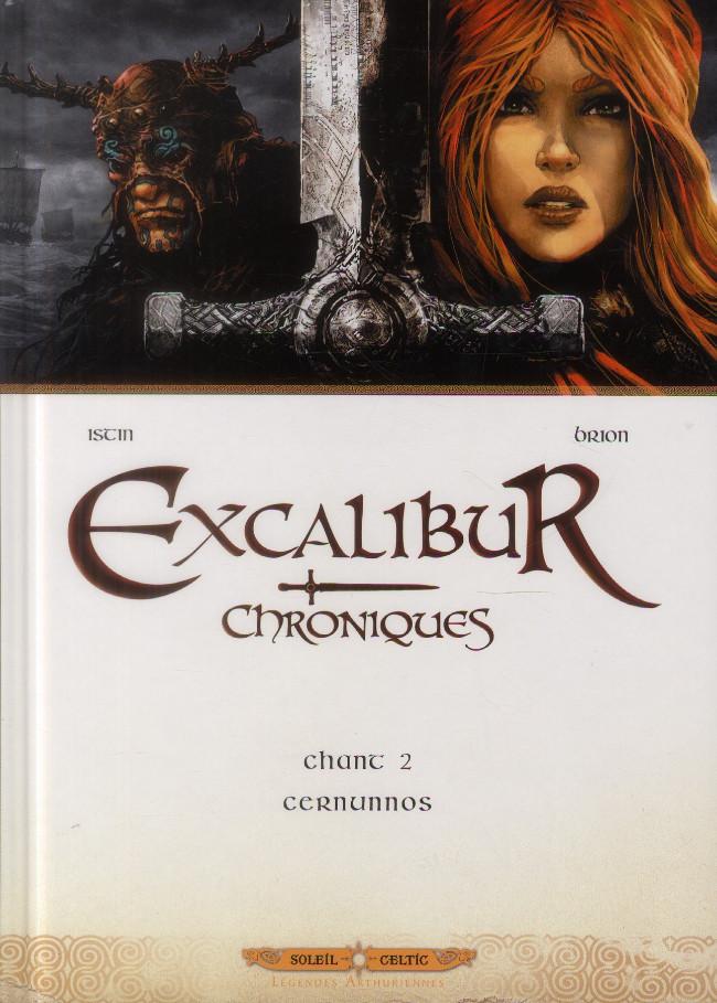 Couverture de Excalibur - Chroniques -2- Chant 2 - Cernunnos