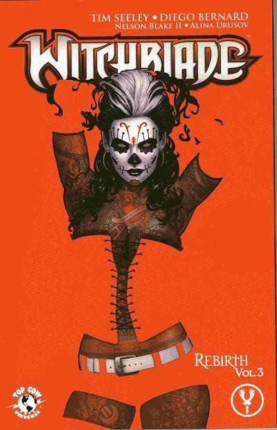 Couverture de Witchblade (1995) -INT15- Rebirth 3