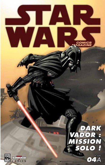 Couverture de Star Wars - Comics magazine -4A- La Tribu perdue des Sith (Conclusion)