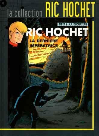 Couverture de Ric Hochet - La collection (Hachette) -71- La dernière impératrice