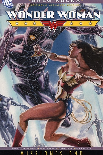 Couverture de Wonder Woman (1987) -INT05- Mission's End