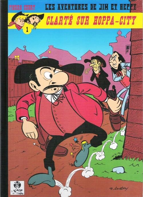 Couverture de Jim L'astucieux (Les aventures de) - Jim Aydumien -4- Clarté sur Hoppa-city