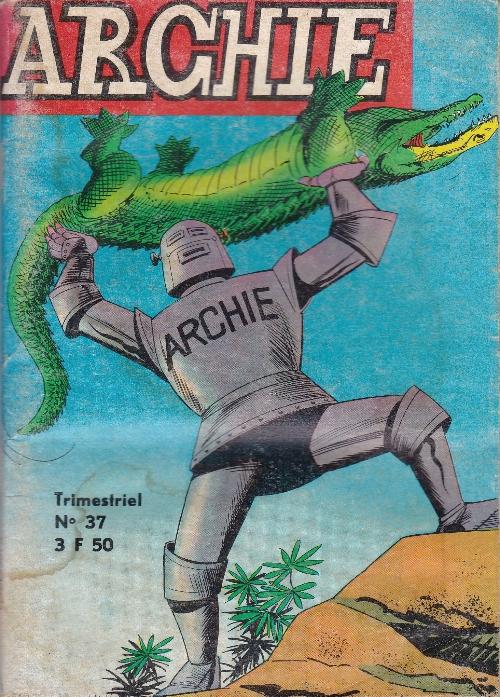 Couverture de Archie (Jeunesse et Vacances) -37- Le mystère de la Pérouse