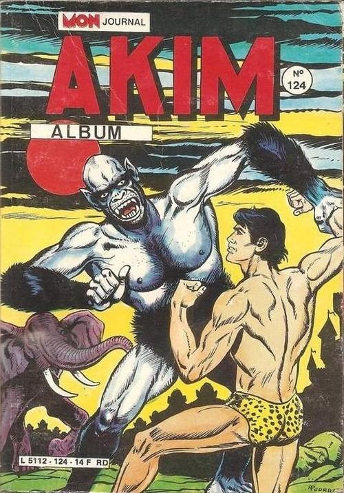 Couverture de Akim (1re série) -Rec124- Album N°124 (du n°617 au n°620)