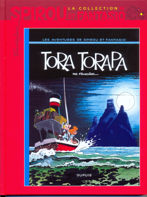 Couverture de Spirou et Fantasio - La collection (Cobra) -25- Tora Torapa