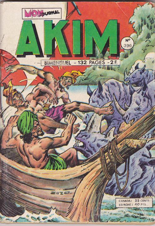 Couverture de Akim (1re série) -396- Le guet-apens