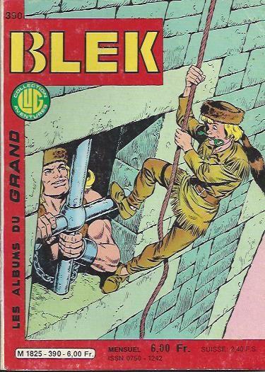 Couverture de Blek (Les albums du Grand) -390- Numéro 390