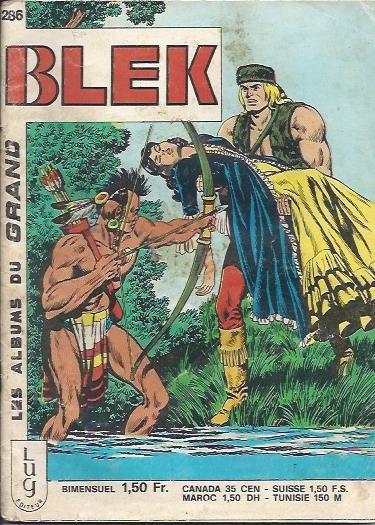 Couverture de Blek (Les albums du Grand) -286- Numéro 286