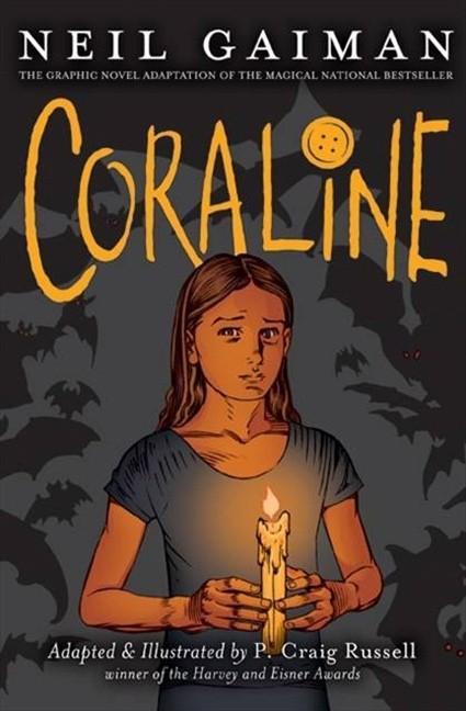 Couverture de Coraline (2008) -GN- Coraline