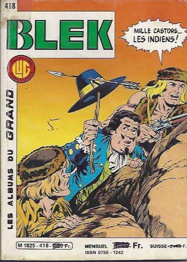 Couverture de Blek (Les albums du Grand) -418- Numéro 418