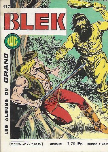 Couverture de Blek (Les albums du Grand) -417- Numéro 417