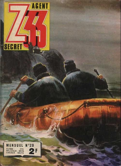 Couverture de Z33 agent secret -20- Le nid du scorpion