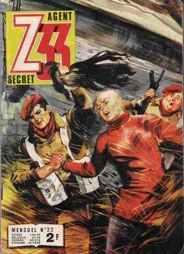 Couverture de Z33 agent secret -22- Diable SS