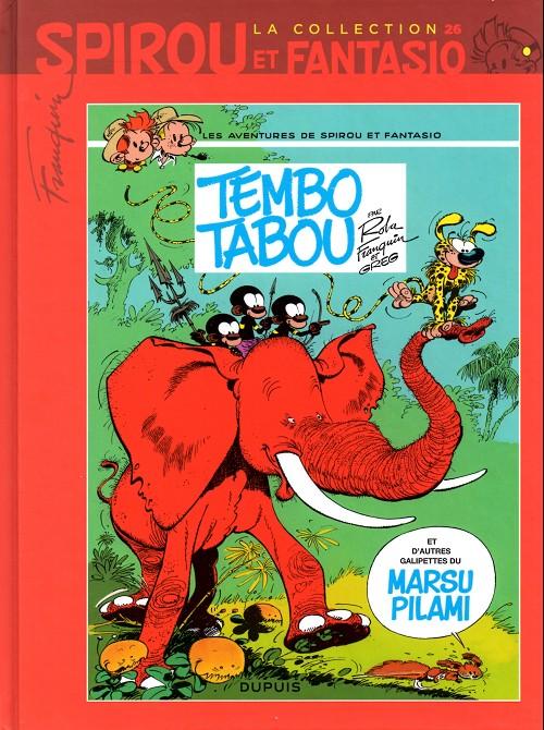 Couverture de Spirou et Fantasio - La collection (Cobra) -26- Tembo tabou