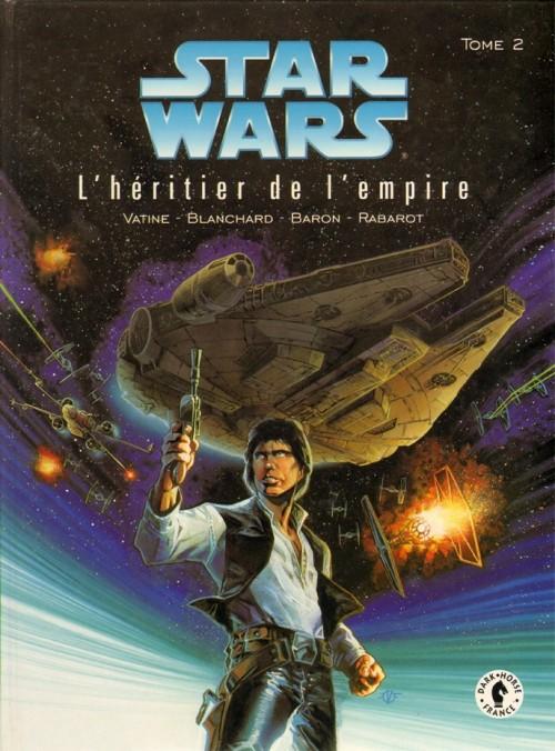 Couverture de Star Wars - Le cycle de Thrawn (Dark Horse) -2- L'héritier de l'Empire - Tome 2