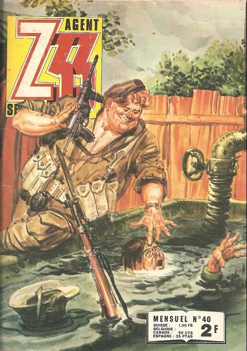 Couverture de Z33 agent secret -40- Berceuse pour un sorcier