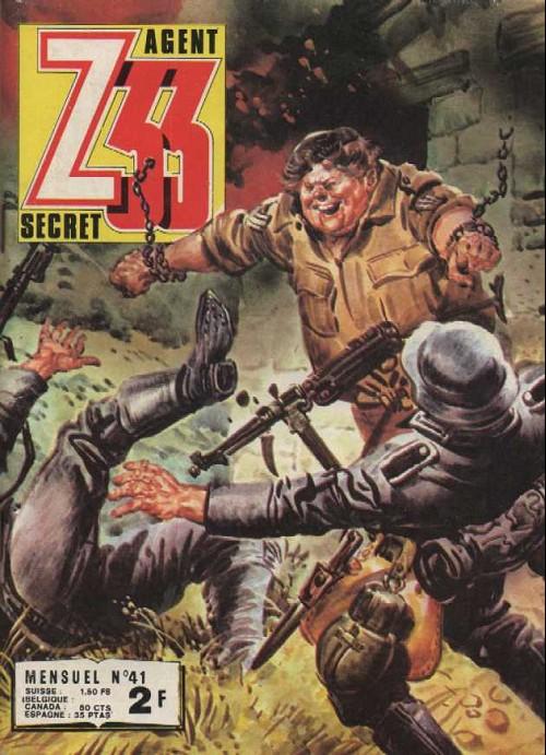 Couverture de Z33 agent secret -41- La valse des rats