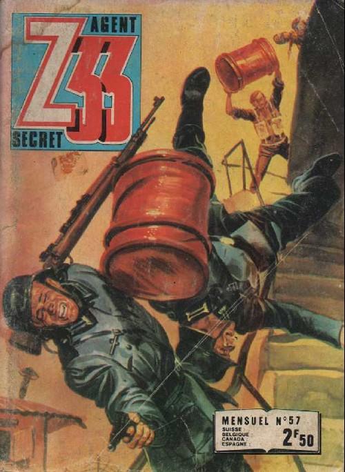 Couverture de Z33 agent secret -57- Le commando aux doigts d'or