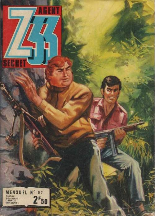 Couverture de Z33 agent secret -67- Les diables blancs