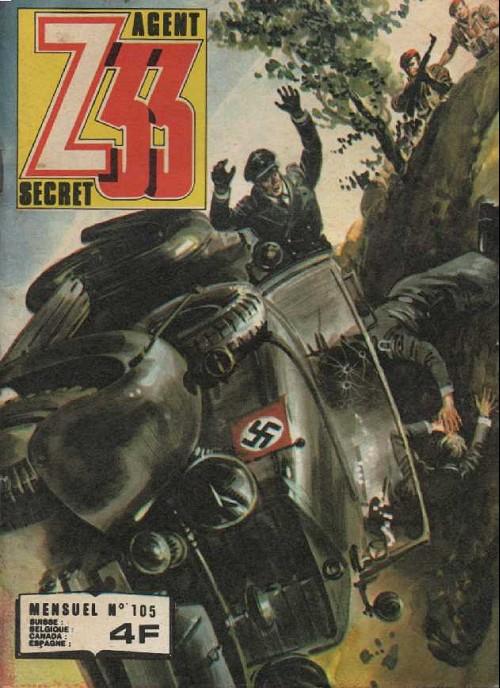 Couverture de Z33 agent secret -105- Sabotage dans le ciel