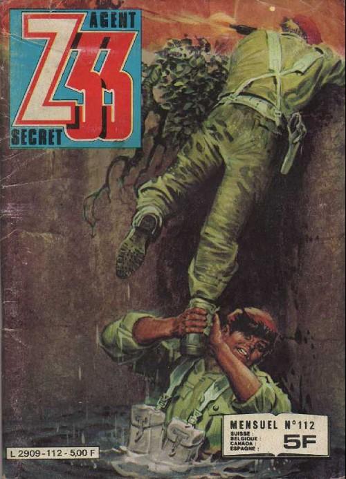 Couverture de Z33 agent secret -112- L'espion rate l'autobus