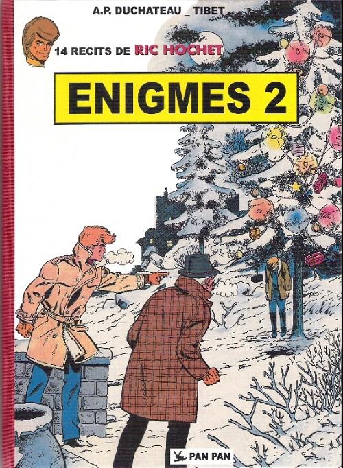 Couverture de Ric Hochet -HS9- Enigmes 2