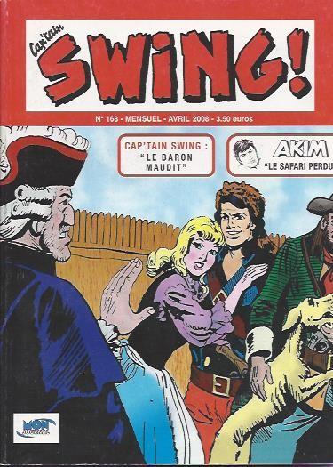 Couverture de Capt'ain Swing! (2e série - Mon Journal) -168- Le baron maudit