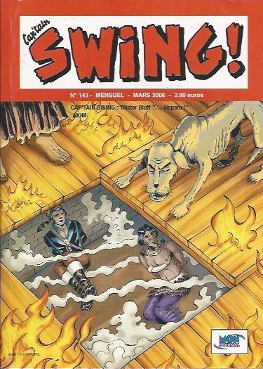 Couverture de Capt'ain Swing! (2e série - Mon Journal) -143- Mister Bluff ?... disparu !