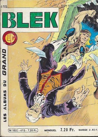 Couverture de Blek (Les albums du Grand) -415- Numéro 415