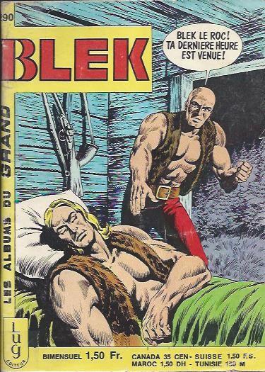 Couverture de Blek (Les albums du Grand) -290- Numéro 290