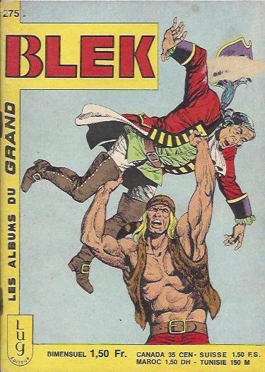 Couverture de Blek (Les albums du Grand) -275- Numéro 275