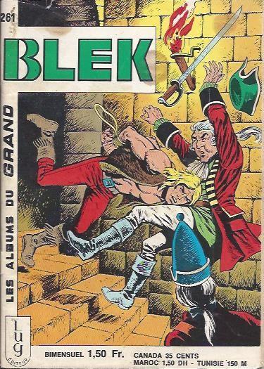 Couverture de Blek (Les albums du Grand) -261- Numéro 261