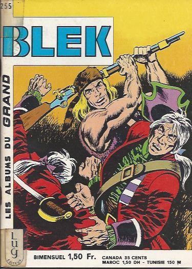 Couverture de Blek (Les albums du Grand) -255- Numéro 255