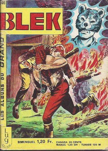 Couverture de Blek (Les albums du Grand) -246- Numéro 246