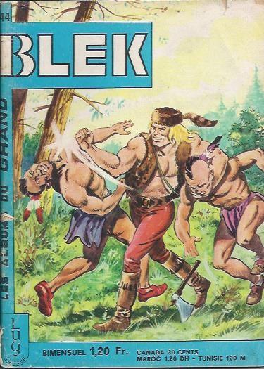 Couverture de Blek (Les albums du Grand) -244- Numéro 244