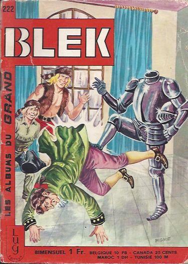 Couverture de Blek (Les albums du Grand) -222- Numéro 222
