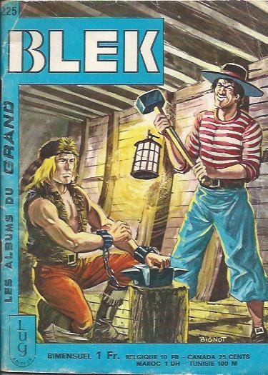 Couverture de Blek (Les albums du Grand) -225- Numéro 225