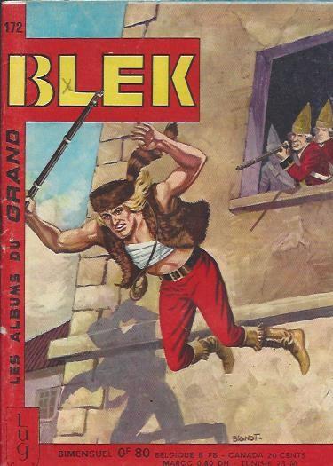 Couverture de Blek (Les albums du Grand) -172- Numéro 172